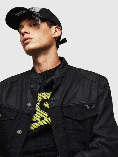 Diesel - D-DANY, Black/Dark grey - Denim Jackets - Image 3