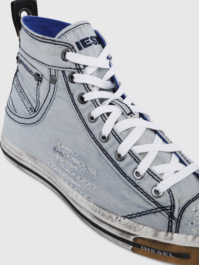 Diesel - EXPOSURE I, Light Blue - Sneakers - Image 4