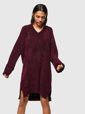 M-NOELIA, Burgundy - Knitwear
