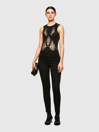 Diesel - T-BRAID, Black - Tops - Image 5