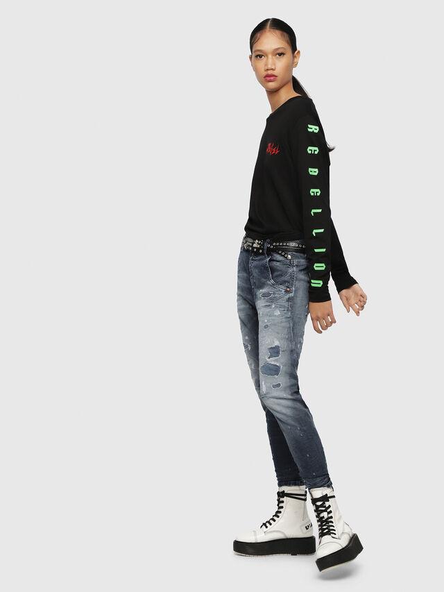 Diesel - Fayza JoggJeans 069CC, Dark Blue - Jeans - Image 4