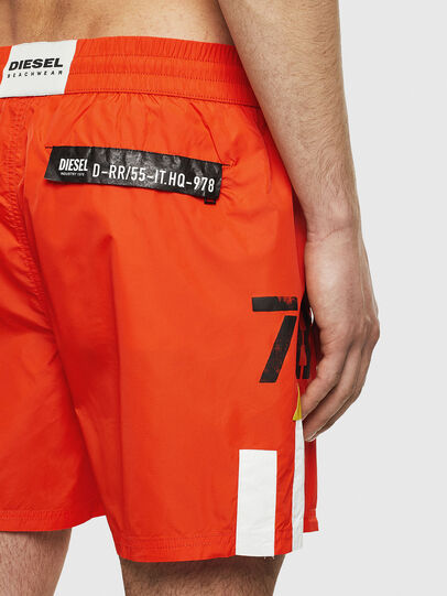 Diesel - BMBX-WAVE-E42, Orange - Swim shorts - Image 4