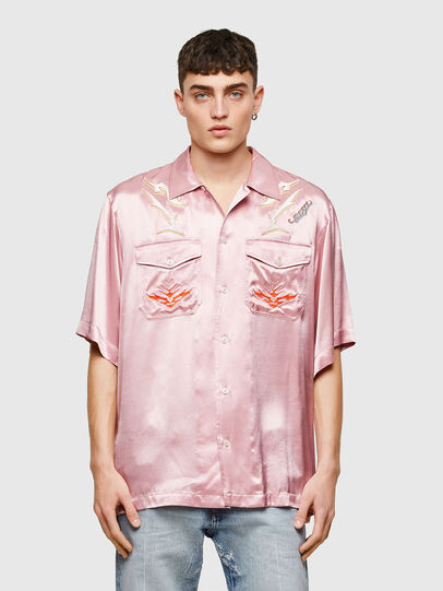 Diesel - S-MITCH, Pink - Shirts - Image 1