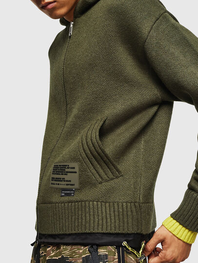 Diesel - K-NAVY, Military Green - Knitwear - Image 3
