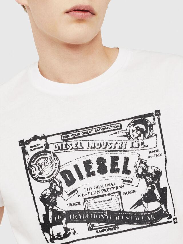 Diesel - T-DIEGO-C3, White - T-Shirts - Image 3