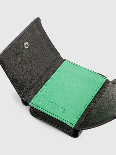 Diesel - SPEJAP, Black/Green - Small Wallets - Image 6
