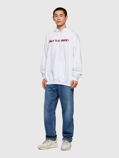 Diesel - S-UMMERIB-E2, White - Sweaters - Image 5