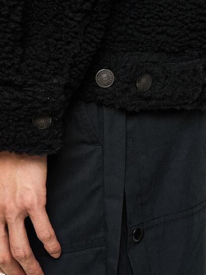 Diesel - W-GARY, Black - Winter Jackets - Image 5