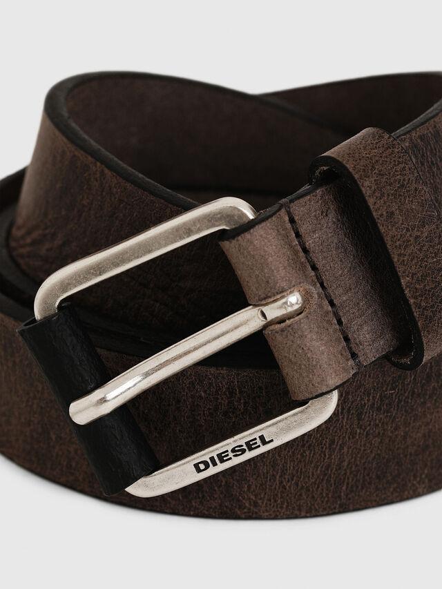 Diesel - B-LOG, Light Brown - Belts - Image 2