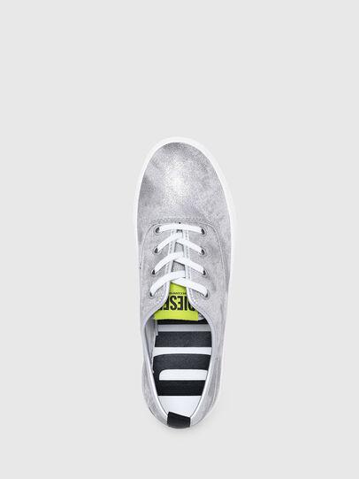 Diesel - S-VANEELA LC, Silver - Sneakers - Image 6