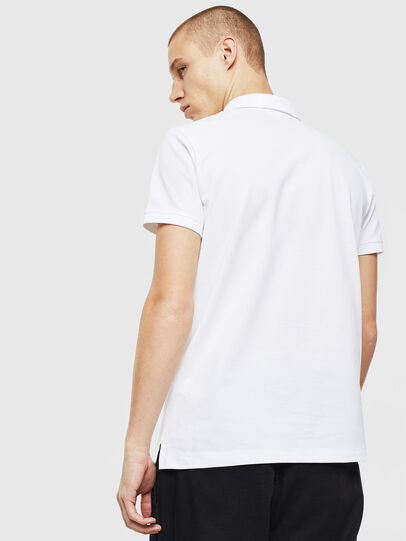 Diesel - T-KAL-PATCH, White - Polos - Image 2