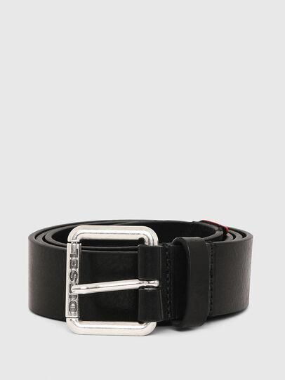 Diesel - B-LINE FLUO, Black - Belts - Image 1