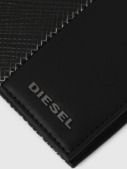Diesel - HIRESH S, Black/White - Small Wallets - Image 4