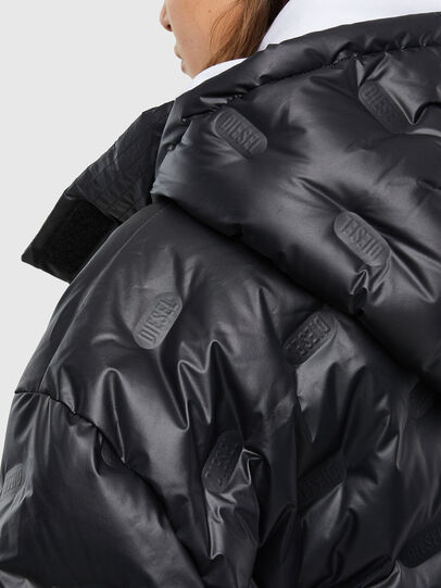 Diesel - W-LALLA, Black - Winter Jackets - Image 5