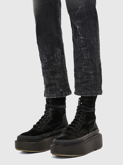 Diesel - D-Eiselle 009IU, Black/Dark grey - Jeans - Image 6