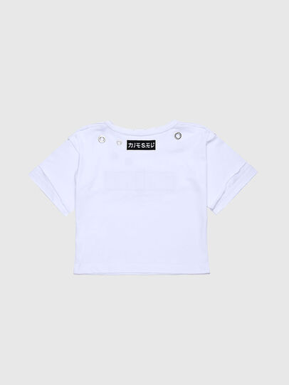 Diesel - TJACKYC, White - T-shirts and Tops - Image 2