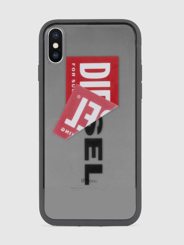 STICKER IPHONE X CASE, Black