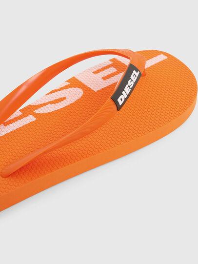Diesel - SA-BRIIAN, Orange - Slippers - Image 5
