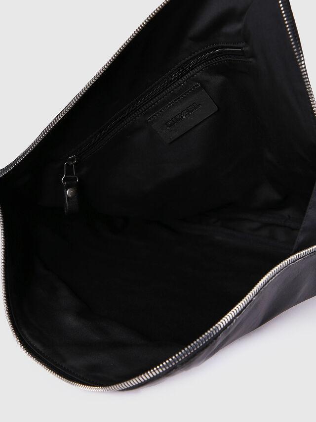 Diesel - L-L4CLUTCH, Black Leather - Clutches - Image 5