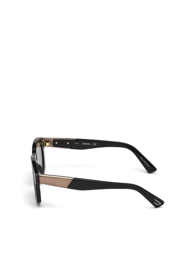Diesel - DL0226, Black - Sunglasses - Image 4