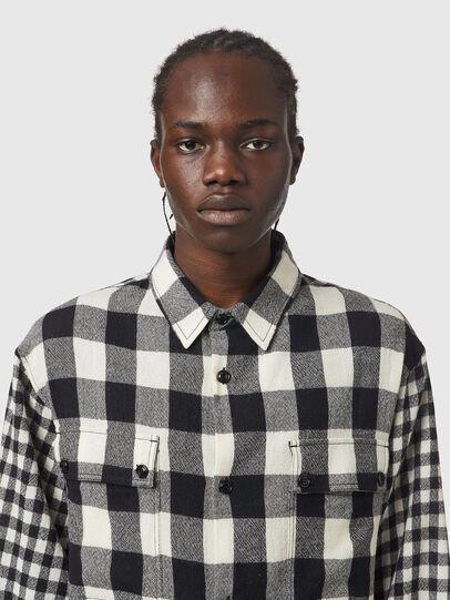 Diesel - S-BUNNEL-CHECK, Black/White - Shirts - Image 3
