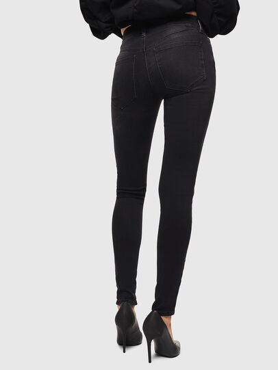 Diesel - Slandy 069GG, Black/Dark grey - Jeans - Image 2