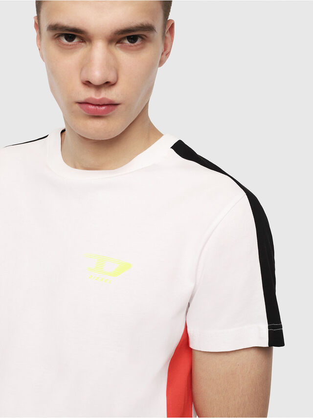 Diesel - T-HARUS, White - T-Shirts - Image 3