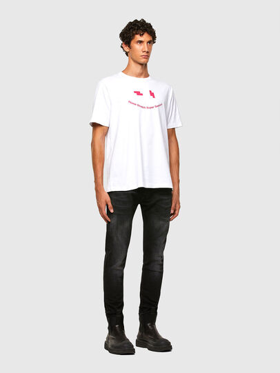Diesel - T-JUST-N43, White - T-Shirts - Image 4