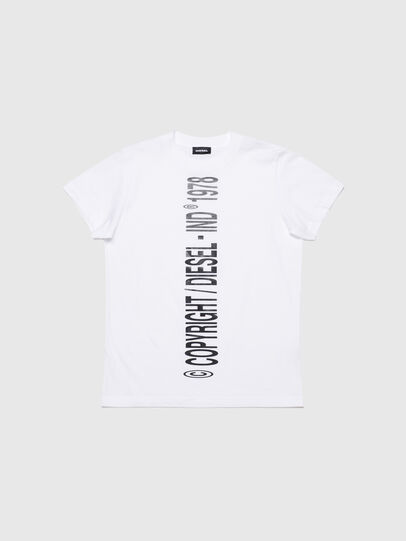 Diesel - TILCOPY, White - T-shirts and Tops - Image 1