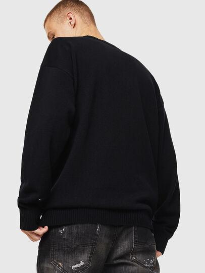 Diesel - K-LOGOS, Black - Knitwear - Image 3