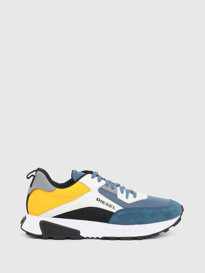 Diesel - S-TYCHE LOW CUT, Yellow/Blue - Sneakers - Image 1