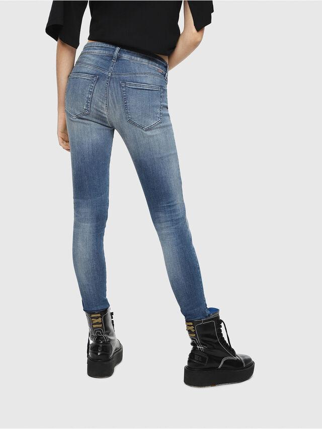 Diesel - Slandy 084MU, Medium blue - Jeans - Image 2