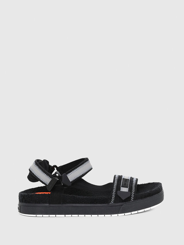 Diesel - SA-GRAND LC, Black/Grey - Sandals - Image 1