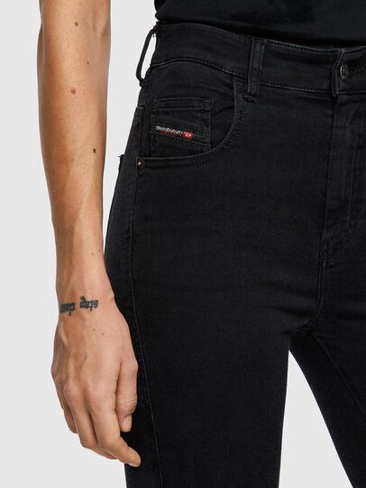 Diesel - Slandy High 069VW, Black/Dark grey - Jeans - Image 3