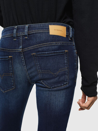 Diesel - Sleenker 084RI, Dark Blue - Jeans - Image 5