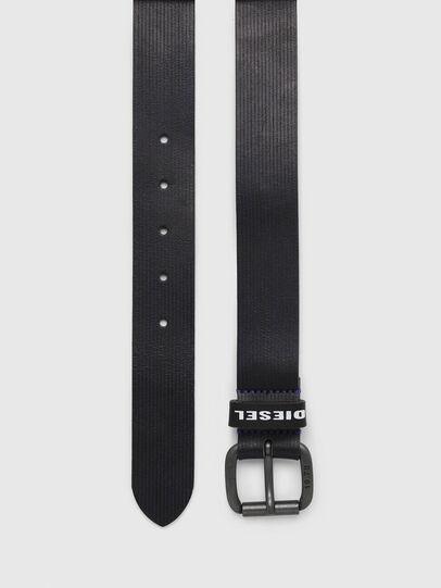 Diesel - B-CAVA, Black/Blue - Belts - Image 3