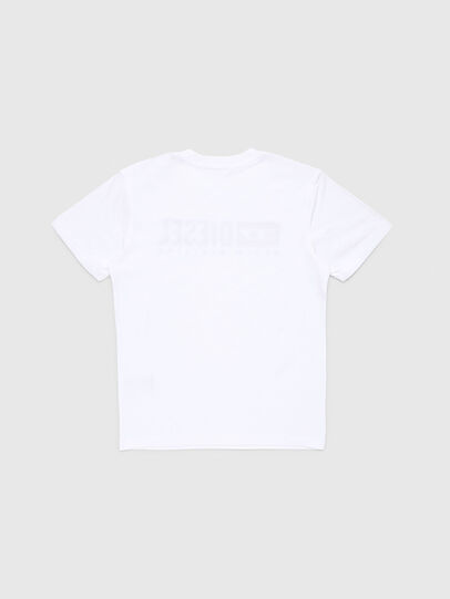 Diesel - TJDIVISION, White - T-shirts and Tops - Image 2