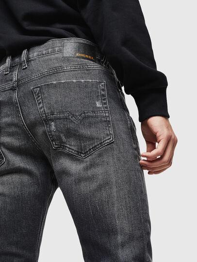 Diesel - Tepphar 0095J, Black/Dark grey - Jeans - Image 4