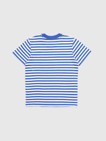 Diesel - TVIKB-R, Blue/White - T-shirts and Tops - Image 2