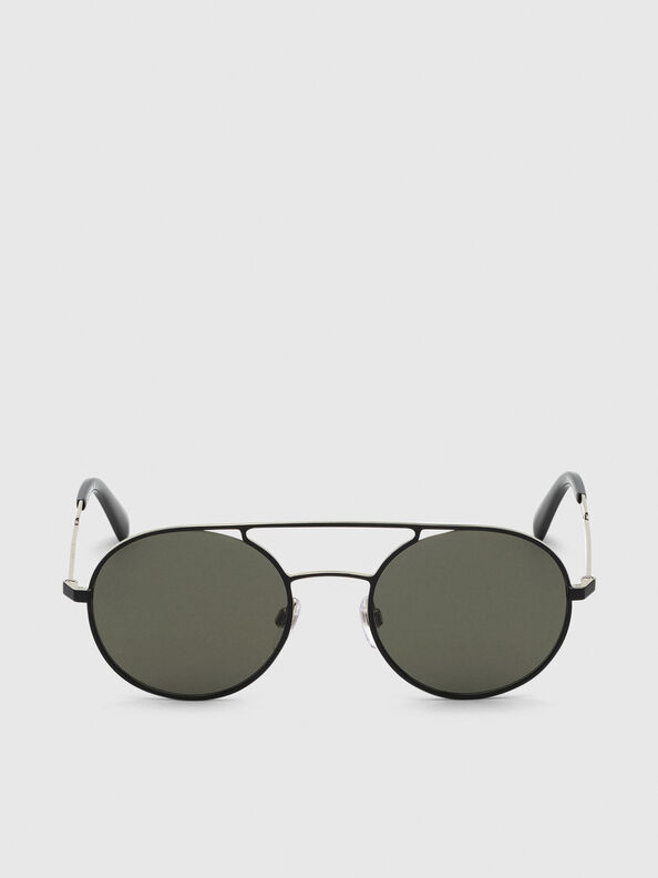 DL0301, Black/Gold - Sunglasses