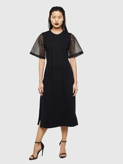 Diesel - D-GOLD, Black - Dresses - Image 1