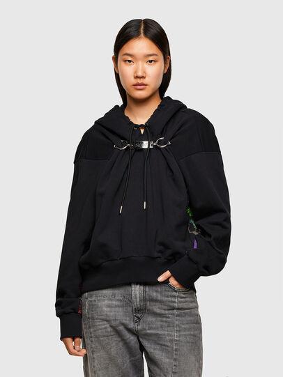 Diesel - F-ALBYHOOKA-SID, Black - Sweaters - Image 1