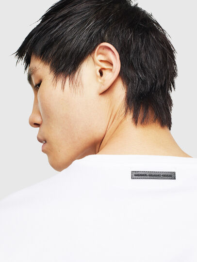 Diesel - TEORIALE-A, White - T-Shirts - Image 4