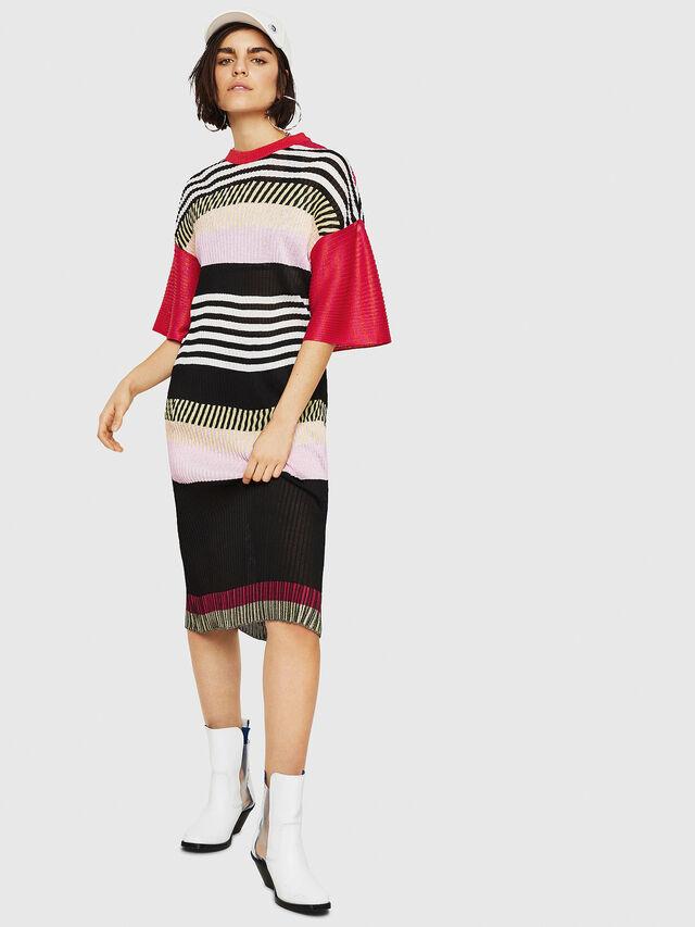 Diesel - M-FINAL-A, Multicolor - Dresses - Image 1