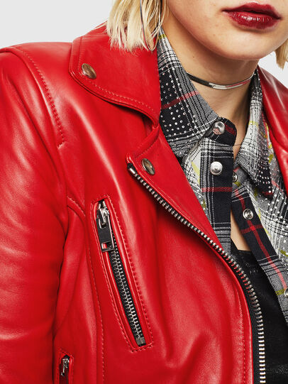 Diesel - L-CARAMA,  - Leather jackets - Image 3