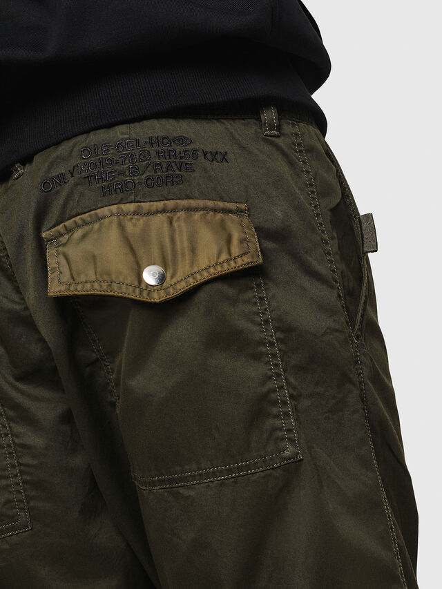 Diesel - P-CASHORT, Military Green - Pants - Image 5