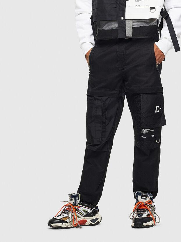 P-MELTY, Black - Pants