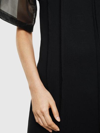 Diesel - D-GOLD, Black - Dresses - Image 5