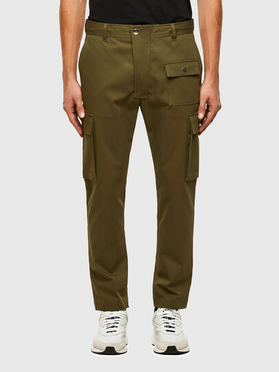 Diesel - P-BRANDEN, Military Green - Pants - Image 1