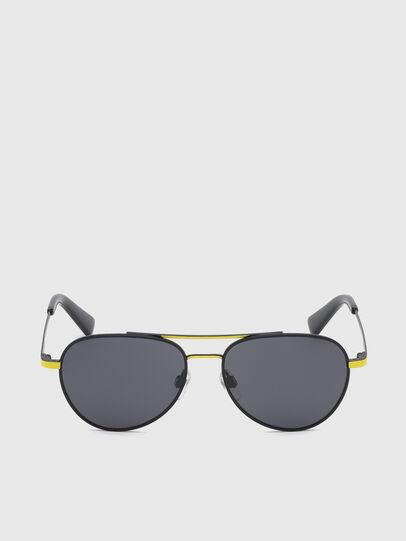 Diesel - DL0291, Black/Yellow - Kid Eyewear - Image 1